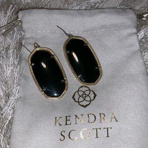 Kendra Scott Black Danielle Earrings